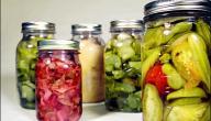 فوائد استخدام الطعام المخلل