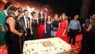 تفاصيل الخبر: ضم نخبة من نجوم الفن والأزياء في العالم العربي
