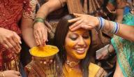 استخدامات ماسك الكركم في الطقوس الهندية
