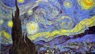 لوحة ليلة النجوم Starry Night