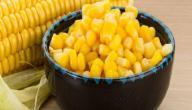 فوائد الذرة الصفراء المسلوقة
