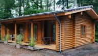 طريقة بناء منزل خشبي