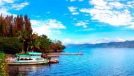 معلومات عن بحيرة توبا