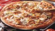 طريقة عمل البيتزا بالسوسيس