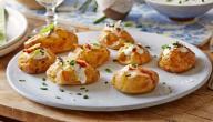 طريقة عمل كرات البطاطس بالدجاج والكريمة