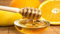 فوائد العسل والليمون للوجه