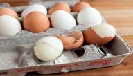 فوائد قشر البيض للطول