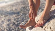 علاج تقشر جلد باطن القدم