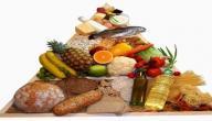 مكونات الهرم الغذائي