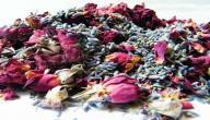 فوائد الورد المجفف