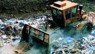 مصادر تلوث المياه