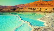 معلومات عن البحر الميت