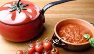 طريقة عمل معجون الطماطم