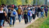 موضوع تعبير عن الهجرة
