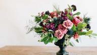 طريقة حفظ الورد الطبيعي لمدة أطول