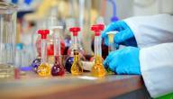 فروع علم الكيمياء