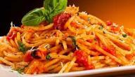 طريقة عمل الباستا الإيطالية بالصلصة الحمراء