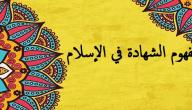 مفهوم الشهادة في الإسلام