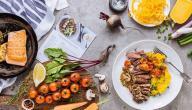 مكونات الغذاء الصحي المتوازن