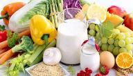 موضوع عن الغذاء الصحي