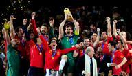 أبطال كأس العالم 2010