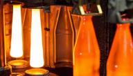 درجة انصهار الزجاج