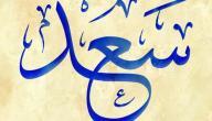 تفسير اسم سعد في المنام