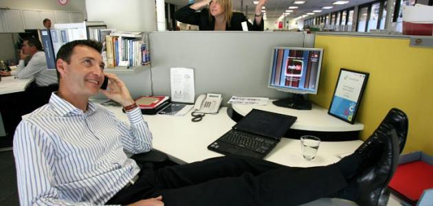 بعض قواعد الإتيكيت في مكان العمل