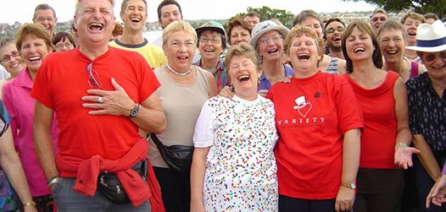 هل يمكن أن يكون الضحك نوعا من الرياضة؟