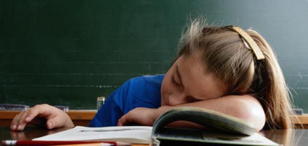 النعاس خلال النهار سبب لمشاكل التعلم والسلوك عند الأطفال