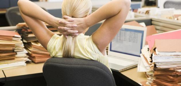 مخاطر الجلوس الطويل في العمل