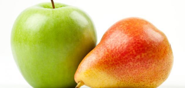 شكل الجسم: الإجاصة ليس أفضل صحة من التفاحة