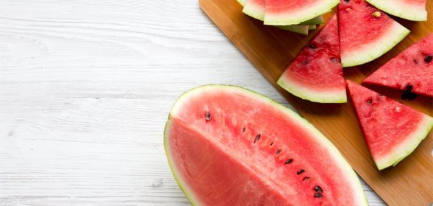 فوائد البطيخ في مكافحة الشيخوخة
