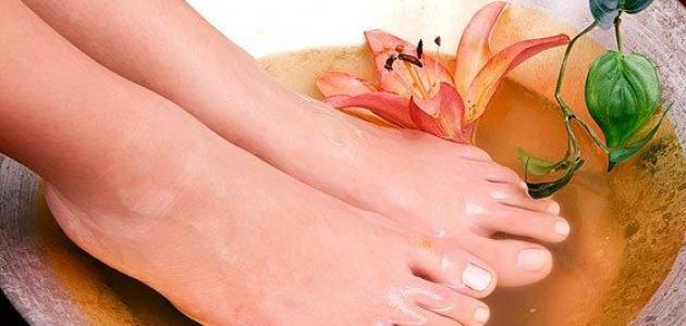 علاج منعش للأقدام المتعبة