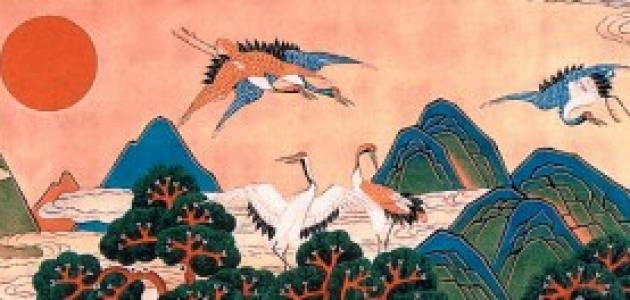 رموز صينية تشير إلى طول العمر