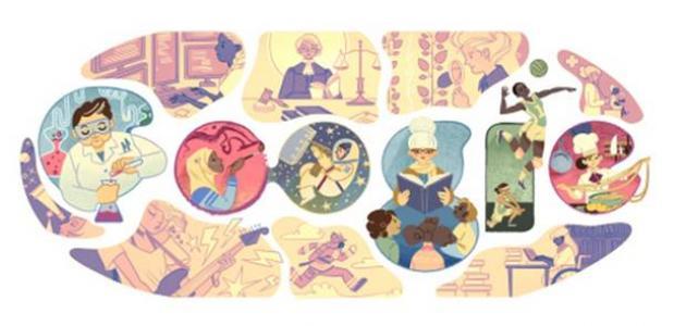جوجل تحتفل باليوم العالمي للمرأة