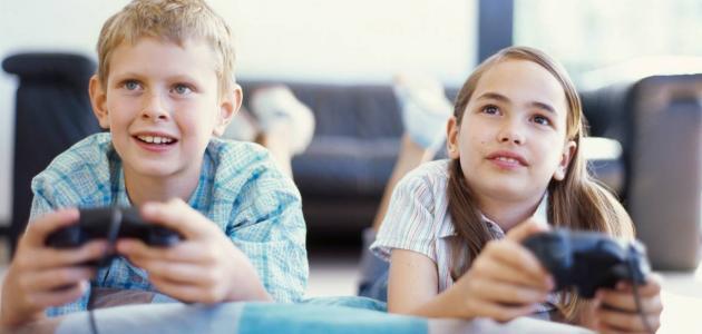 ألعاب الفيديو تحسن تركيز الطفل