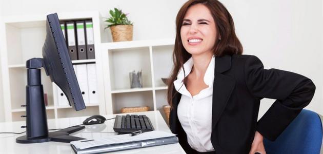 كيف تتجنب مخاطر العمل المكتبي
