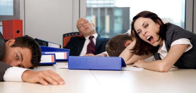 طرق لمواجهة التعب والنعاس في العمل