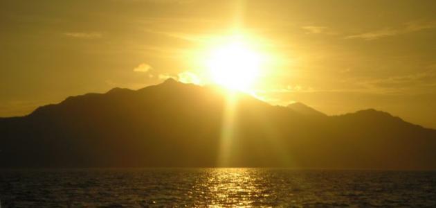 الإعجاز العلمي في شروق الشمس من مغربها
