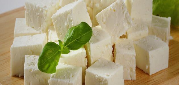 فوائد الجبنة البيضاء الصحية