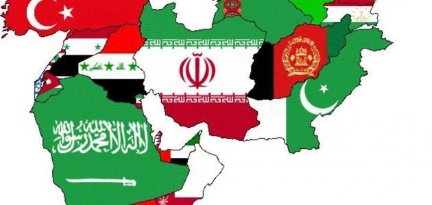 من هي دول الشرق الأوسط ؟