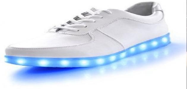 أضرار الحذاء المضيء