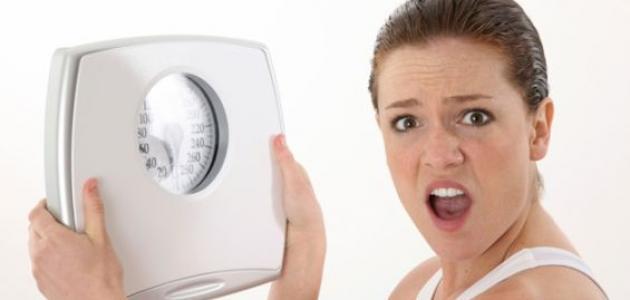 أسباب زيادة الوزن المفاجئ