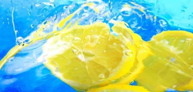 فوائد تناول الماء بالليمون