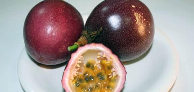 فوائد فاكهة العاطفة (Passion fruit)