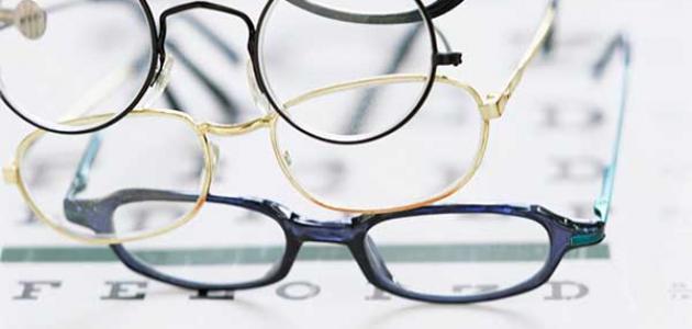 512dceedc أنواع عدسات النظارات الطبية - موسوعة وزي وزي