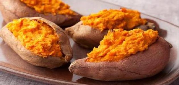 أنواع البطاطا الحلوة