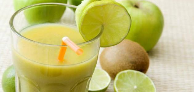فوائد عصير الكيوي و الليمون لحرق الدهون