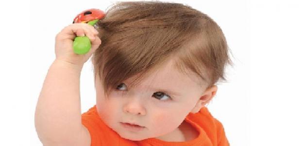 علاج القشرة عند الأطفال